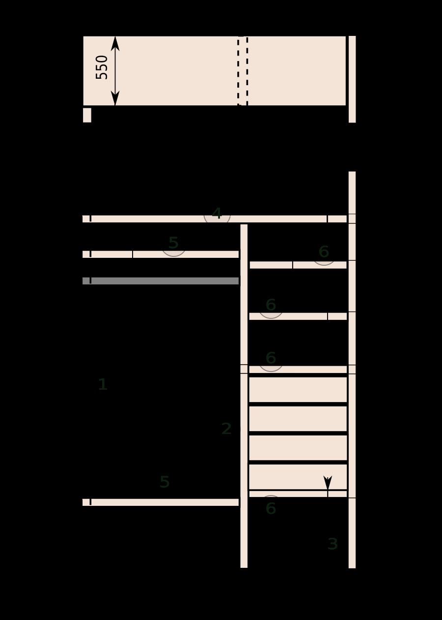 Двери для шкафа 61